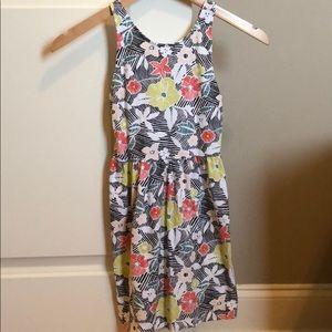 Summer flowers dress